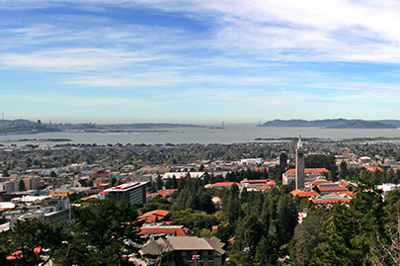 UC Berkeley Panorama. Photo by Keegan Houser.